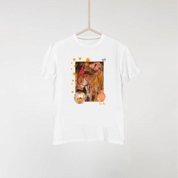 Camiseta Gallina